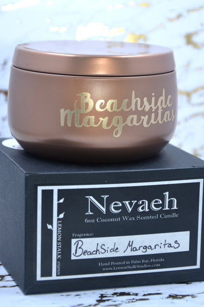 Nevaeh Copper Candle with Box