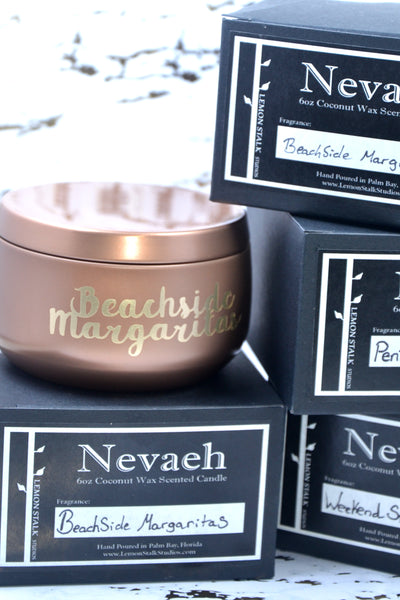 Nevaeh Coconut Wax Candle with Boxes