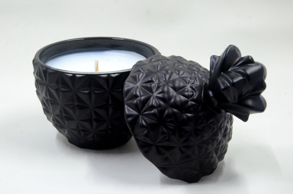 Open Black Florence Candle