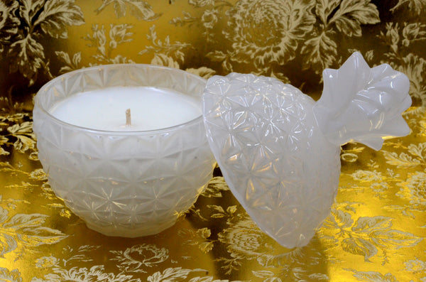 Open White Florence Candle
