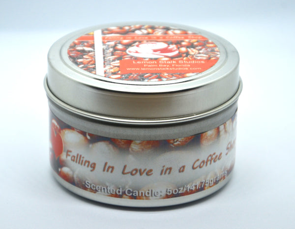 Coffee Scented Candle Closed
