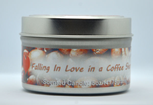 Coffee Scented Candle Front