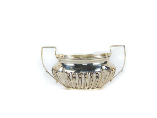 Victorian Antique Sterling Silver Sugar Bowl (C.1901)
