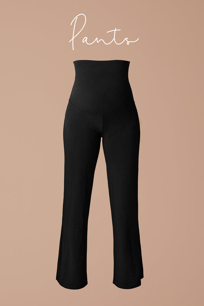 Our straight legged pants, slim and lengthen your legs for a look that is elegant and easy to wear.