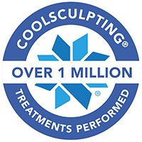 over 1 million coolsculpting treatments performed