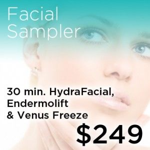 facial sampler coupon for only $249