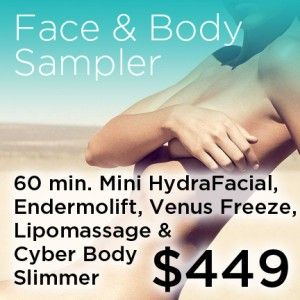 face and body sampler coupon for only $449