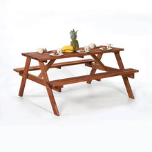 Load image into Gallery viewer, A-Frame 6 Seat Picnic Table Bench