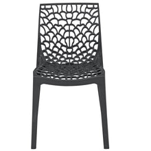 Load image into Gallery viewer, Neptune Polypropylene Anthracite Black Plastic Chair