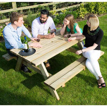 Load image into Gallery viewer, Picnic Table A Frame 6 Seat Timber 42mm Pressure Treated Pine