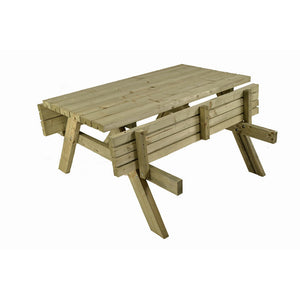 Picnic Table A Frame 6 Seat Timber 42mm Pressure Treated Pine