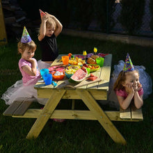 Load image into Gallery viewer, Children's combined sandpit and picnic table