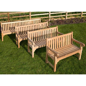 Luxury Grade A Teak Garden Bench 3 Seater 150cm