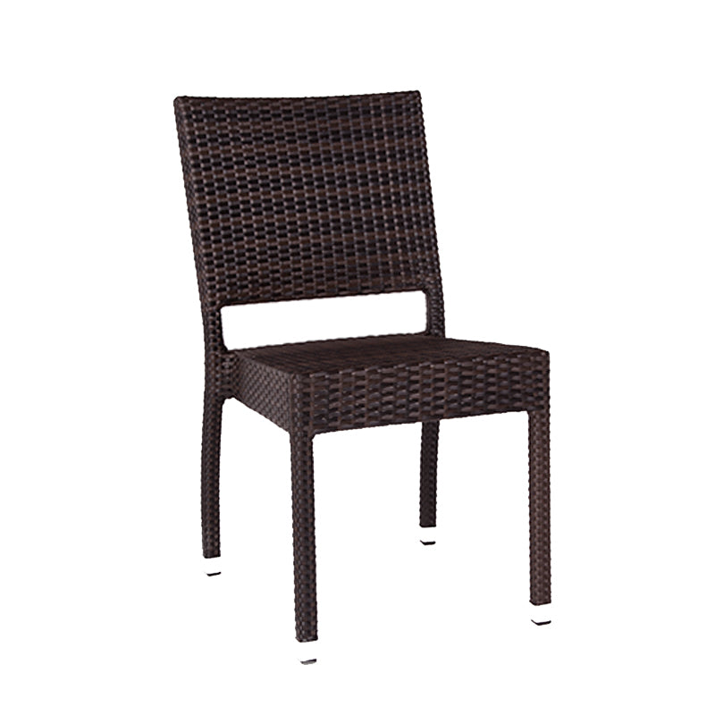 Rattan Stacking Side Chair