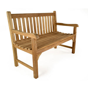 Teak Garden Bench Coffee 4 Seater set