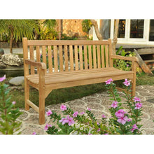 Load image into Gallery viewer, Elegant Grade A Teak Garden Bench 3 Seater 150cm
