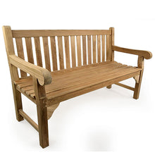 Load image into Gallery viewer, Luxury Grade A Teak Garden Bench 3 Seater 150cm
