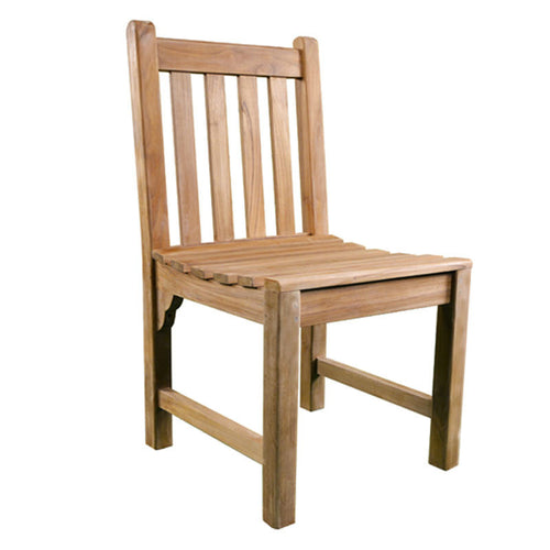 Luxury Grade A Teak Side Chair