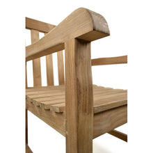 Load image into Gallery viewer, Luxury Grade A Teak Arm Chair