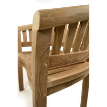 Load image into Gallery viewer, Chunky Grade A Teak Curved Armchair