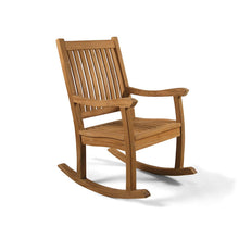 Load image into Gallery viewer, Grade A Teak Wooden Rocking Chair
