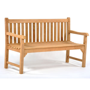 Benson 3 Seater Teak Bench