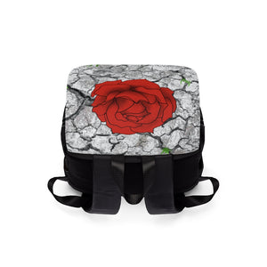 Rose N' Concrete Shoulder Backpack
