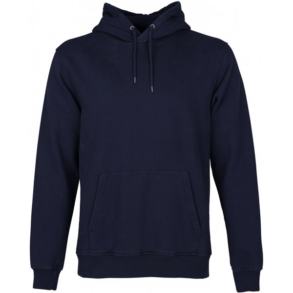 Colorful Standard Organic Hooded Sweatshirt - Navy Blue