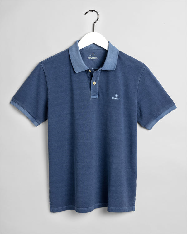 GANT Sunfaded Polo Shirt - Insignia Blue