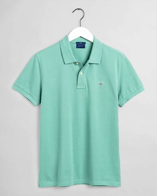 GANT Original Pique Polo Shirt - Peppermint
