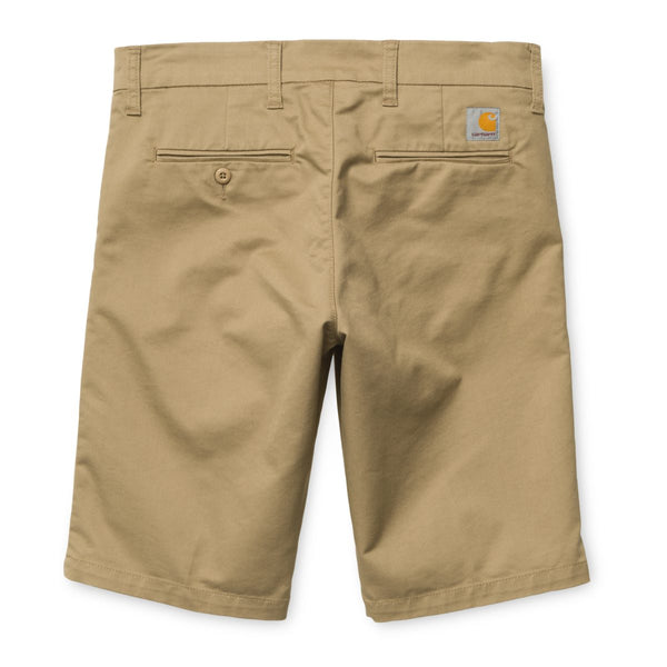 Carhartt Sid Chino Short - Leather