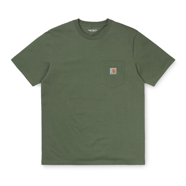 Carhartt Pocket T-Shirt - Dollar Green
