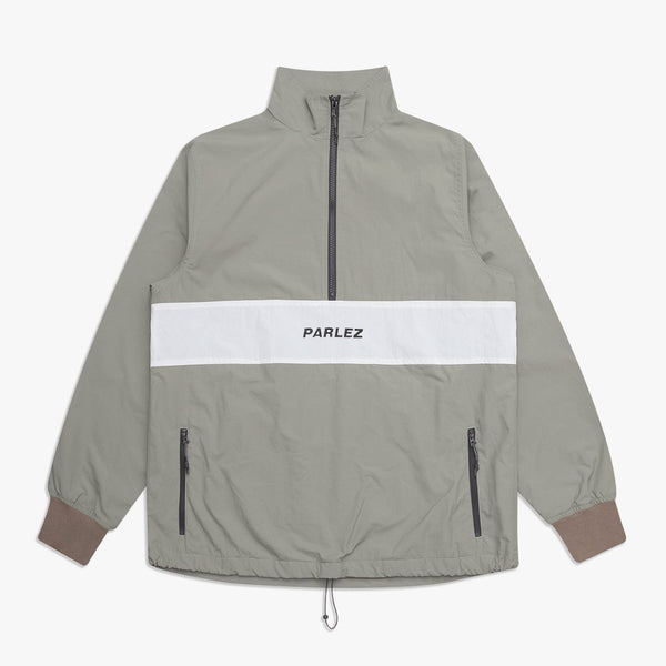 Parlez Bathsheba 1/4 Zip Jacket - Khaki