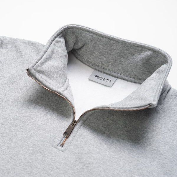 Carhartt Chase 1/4 Sweatshirt - Grey Heather