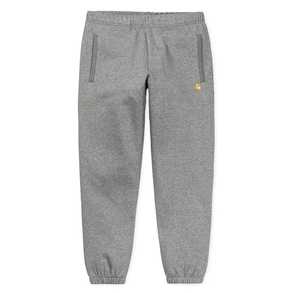 Carhartt Chase Sweat Pant - Dark Grey