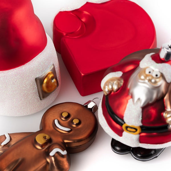Carhartt WIP Christmas Ornaments - Set of 4