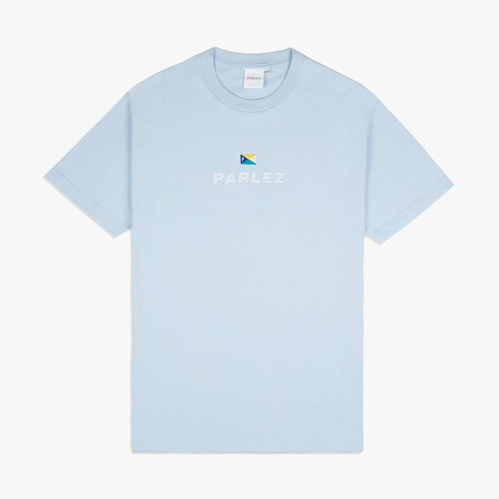 Parlez Davis T-Shirt - Powder Blue
