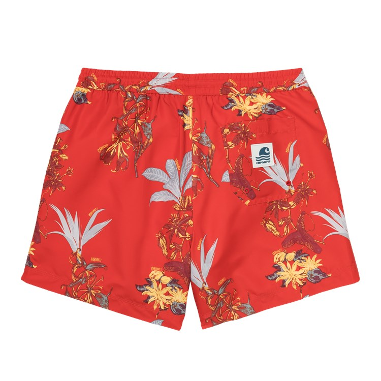 Carhartt Drift Swim Short - Hawaiian Red