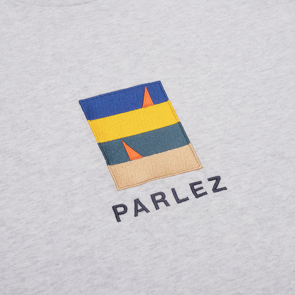 Parlez Fitts T-Shirt - Heather Grey