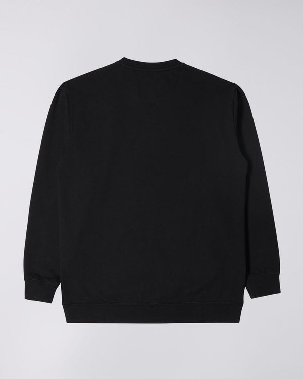 Edwin Base Crew Sweatshirt - Black