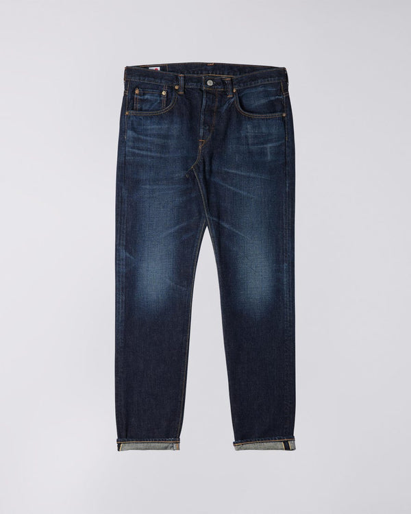 Edwin Made In Japan Regular Tapered Jeans  - Dark Used