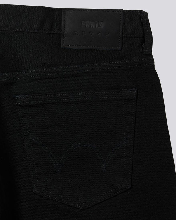 Edwin Slim Tapered Made in Japan Jean - Black
