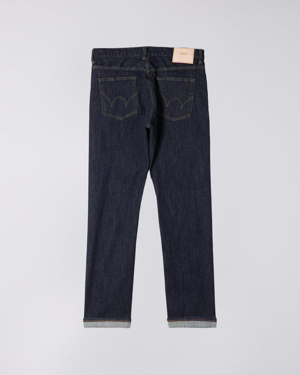 Edwin Made In Japan Regular Tapered Jeans  - Rinsed