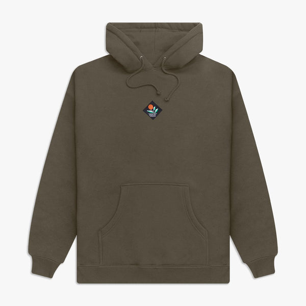 Parlez Kojo Hooded Sweat - Khaki