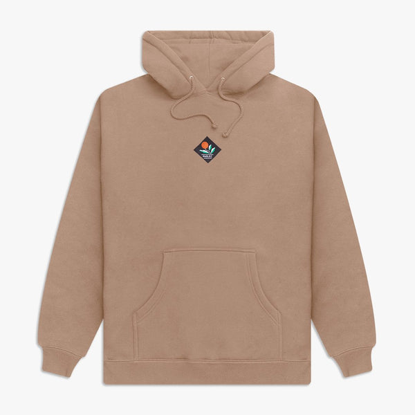 Parlez Kojo Hooded Sweat - Sand
