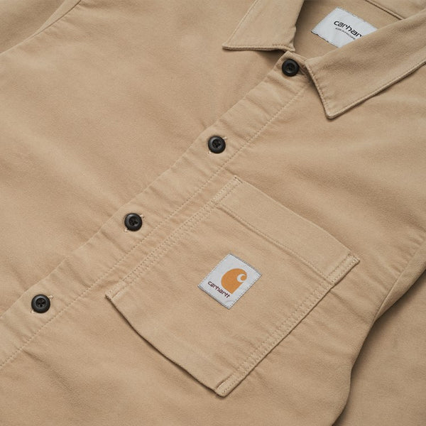 Carhartt WIP Holston Shirt - Leather