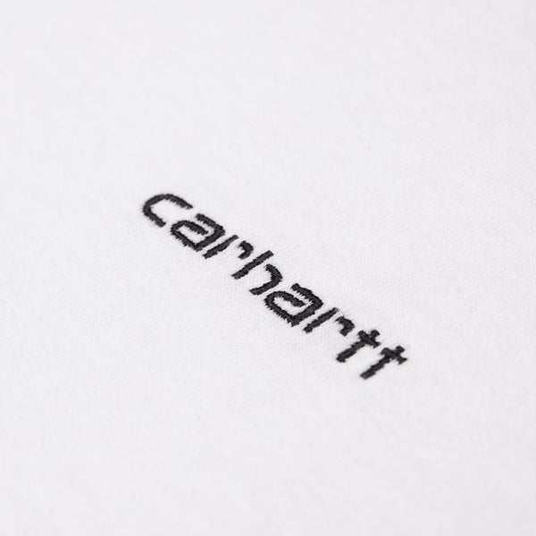 Carhartt Long Sleeve Mockneck - White