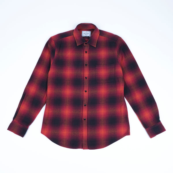 Portuguese Flannel Light My Fire Shirt - Red Check