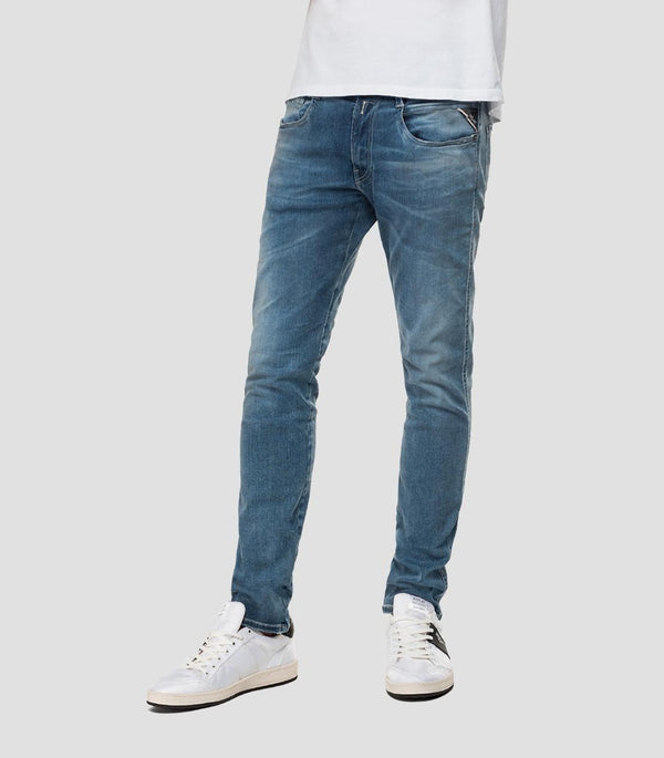 Replay Hyperflex Bio Jeans - Medium Blue
