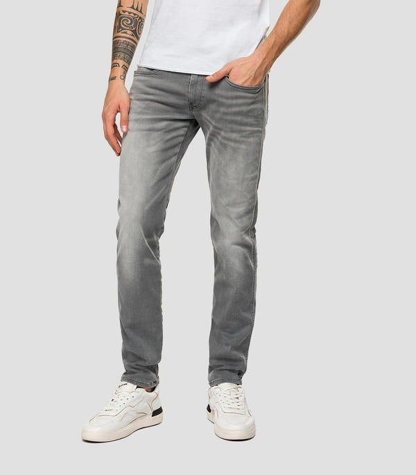 Replay Hyperflex Bio Jeans - Medium Grey